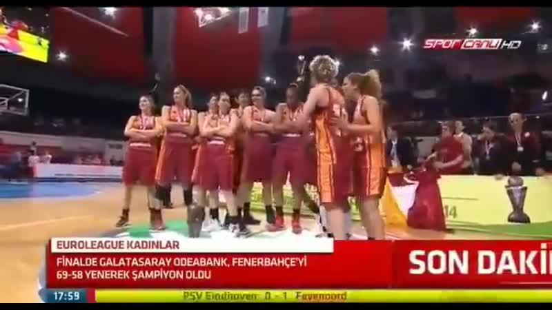 TARİHTE BUGÜN   Galatasaray Odeabank 69-58 Fenerbahçe (13 Nisan, 2014)