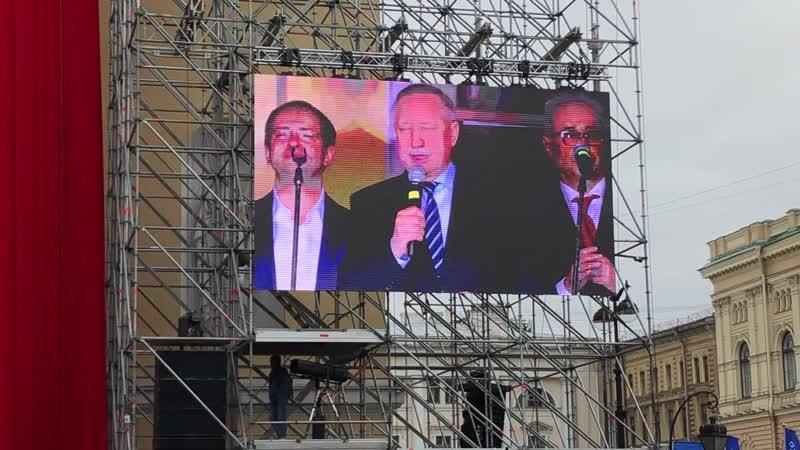 Беглов поздравил петербуржцев с началом театральной олимпиады