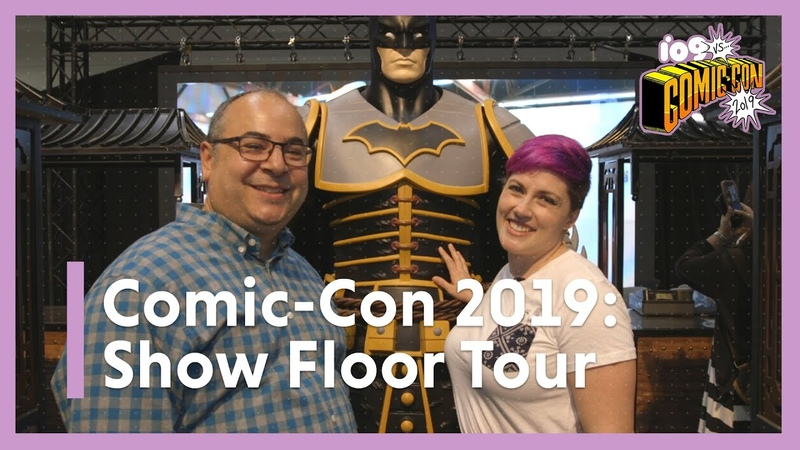 SDCC 2019 Preview Night | io9 Tours San Diego Comic-Con's Show Floor