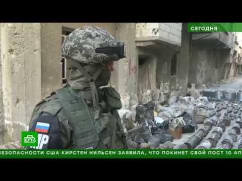 Саперы и военная полиция очищают Ярмук от схронов боевиков