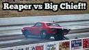 Street Outlaws Reaper vs Big Chief at Idaho No Prep Kings