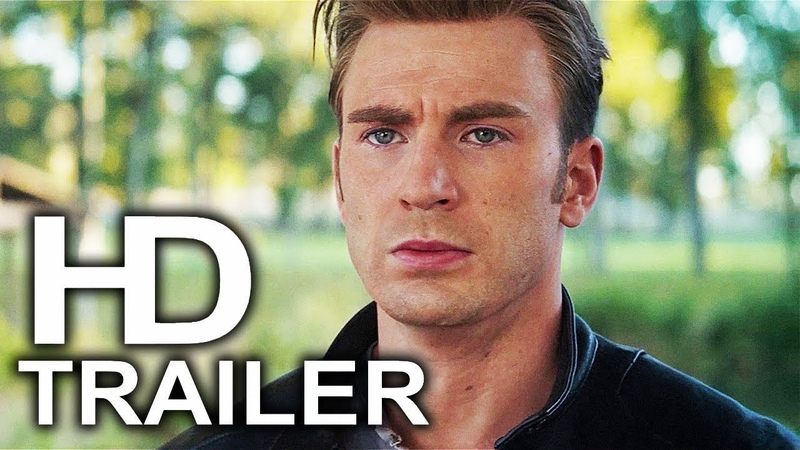 AVENGERS 4 ENDGAME Captain America Final Mission Trailer NEW (2019) Marvel Superhero Movie HD