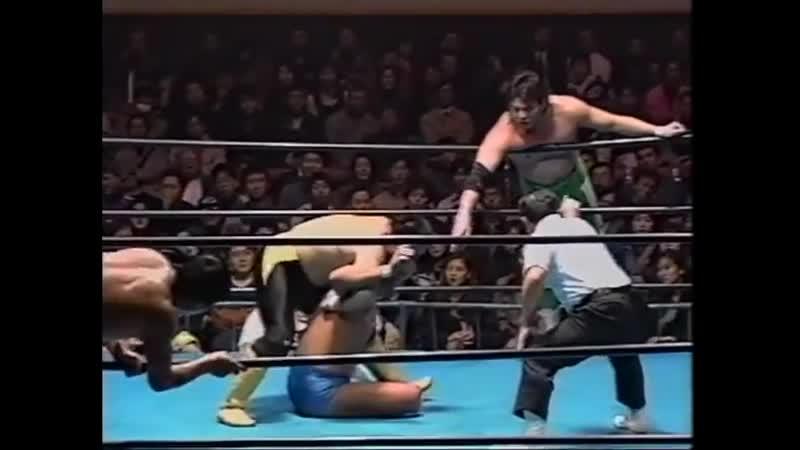 1997.11.28 - Akira Taue/Toshiaki Kawada vs. Mitsuharu Misawa/Jun Akiyama