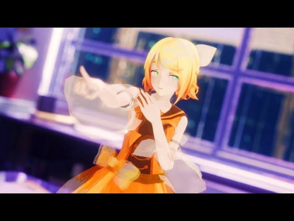 4k [MMD] 帝国少女 Imperial Girl [YYB 10th リン改変]