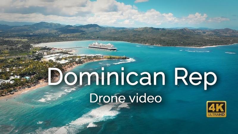 Puerto Plata Dominican Rep Aerial Drone 4k Video