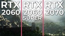 RTX 2060 SUPER vs. RTX 2060 2070 Performance Test | 5 games benchmark [promotion]