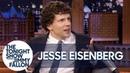 Jesse Eisenberg Unveils His Limited Edition Action Figure