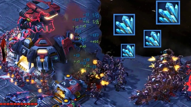 Fighting Zombies for Minerals in Zombie Bounty Starcraft 2 Mod Arcade