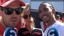 Lewis Hamilton Sebastian Vettel Post Race Interviews F1 Canadian GP 2019