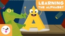 Learn the letter A with Alfred the Alligator - Learning the alphabet - Phonics For Kids