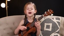 Can't Help Falling In Love Elvis Cover by 6 Year Old Claire Crosby