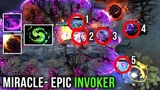 Miracle- M-GOD EPIC SHT 1 HOUR Invoker GAME - WTF IS THIS 2x Meteor 2x Deafening Blast - Dota 2