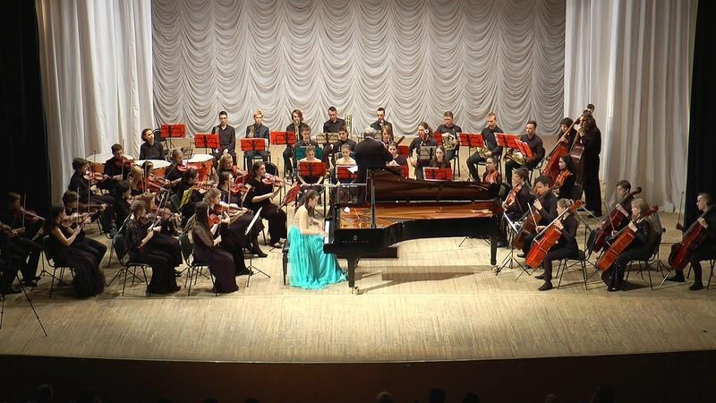 Запись концерта Юниор-оркестра - I отделение (Вятская филармония)