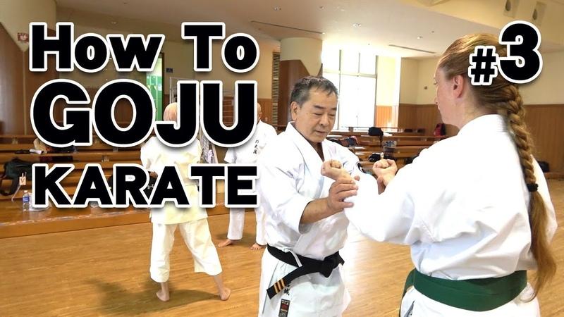 How to GOJU-RYU KARATE 3   Karate Lessons   Master Masaaki Ikemiyagi 9th dan   沖縄伝統空手
