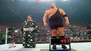 WWE Big Show and Akebono Weigh-in before match at WrestleMania 21 Full Segment HD