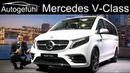 New Mercedes V-Class Marco Polo REVIEW Exterior Interior Facelift V-Klasse 2020 - Autogefühl