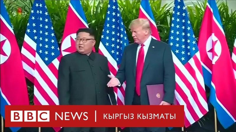 Би Би Си жаңылыктары 18.04.2019 Түндүк Корея АКШ мамилеси солгундай түштүбү? BBC Kyrgyz
