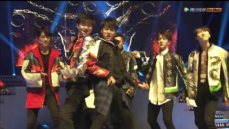 X玖少年团上海演唱会 XNINE Shanghai Concert 20170402《离开地球表面》