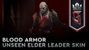 GWENT: Crimson Curse | Blood Armor – Unseen Elder Leader Skin