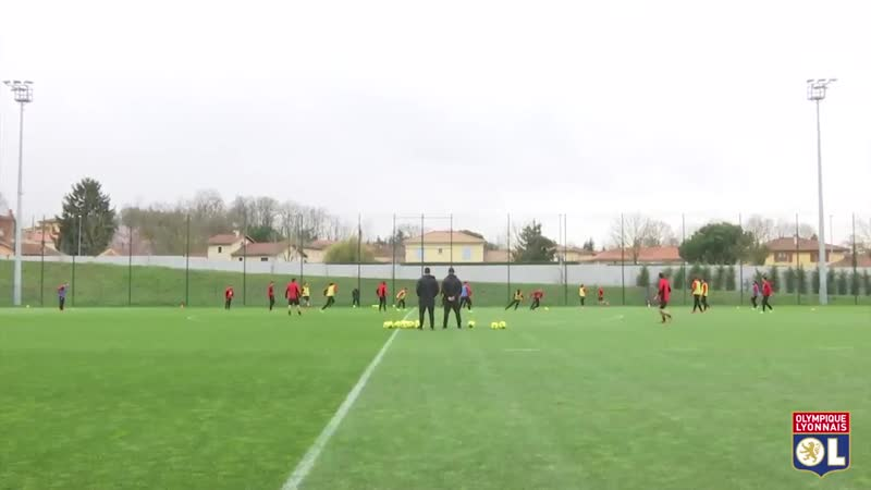 Retour sur la séance matinale en vue du match face à Montpellier ! OLMHSC