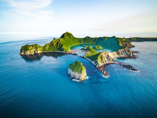 Остров Ушишир, жемчужина Курильских островов