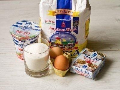 Маффины на клубничном йогурте!