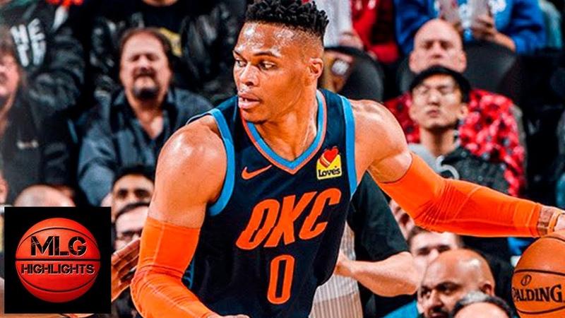 Toronto Raptors vs Oklahoma City Thunder Full Game Highlights | March 22, 2018-19 NBA Season