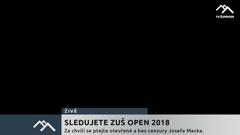 ŽIVĚ Josef Macek o ZUŠ Open 2019 29 5 2019