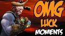 Dota 2 Luck Moments Compilation