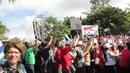 Первомайская демонстрация Варадеро (Куба) часть 4
