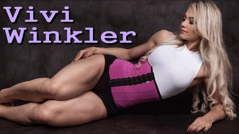 Vivi Winkler startlingly hot muscular legs and glutes Brasilian fitness model