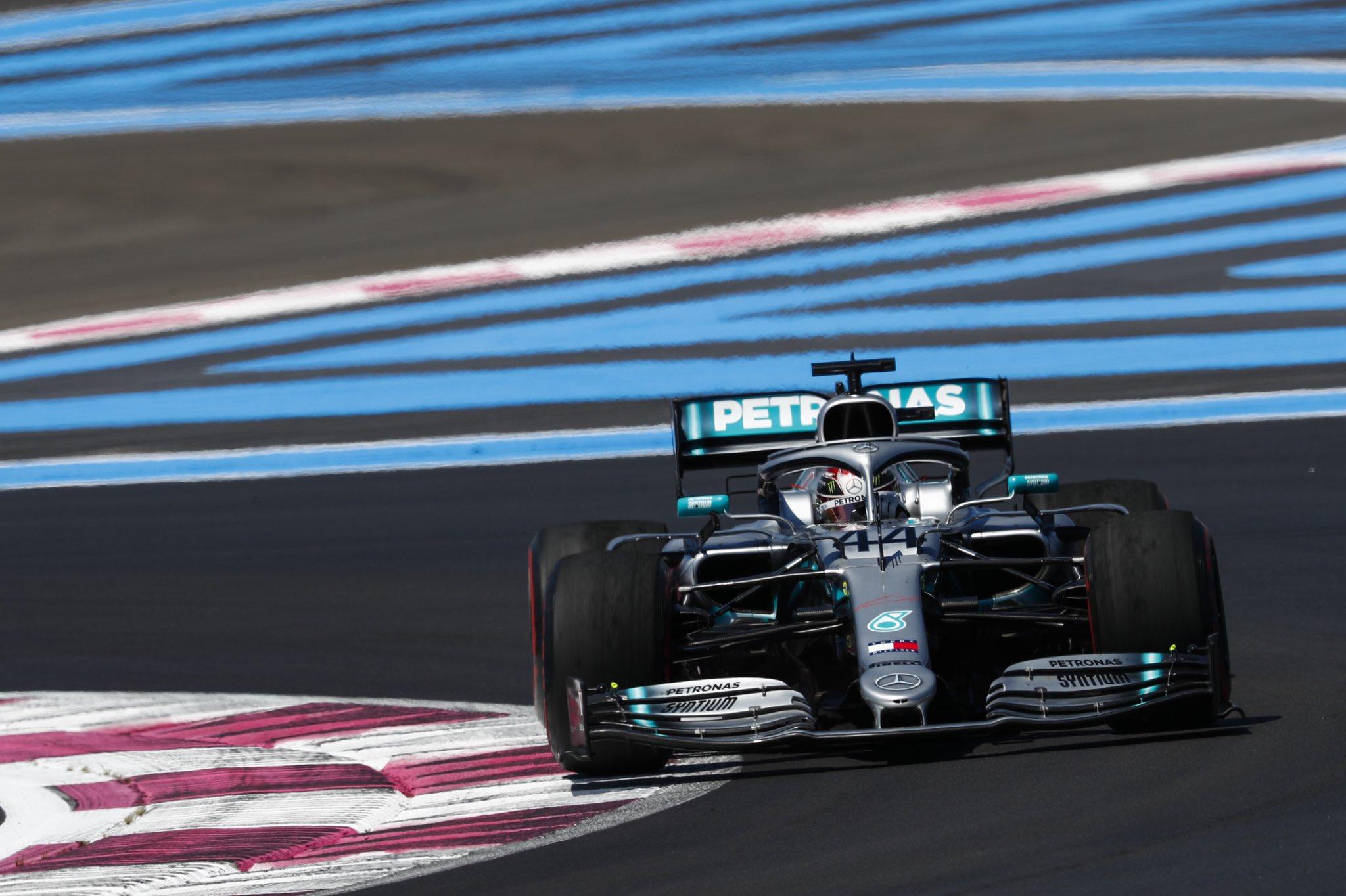 Льюис Хэмилтон - победитель гран-при Франции 2019