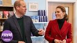 Duke and Duchess of Cambridge visit coastguard rescue centre in Wales