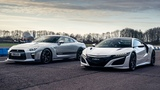 Honda NSX vs Litchfield GT-R  Drag Races  Top Gear
