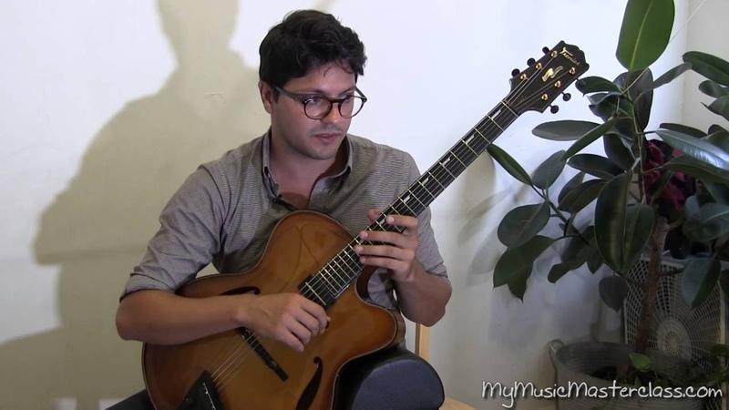 Pasquale Grasso - Jazz Improvisation Lesson 1