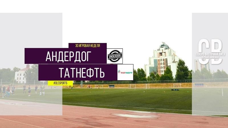 Общегородской турнир OLE в формате 8х8. XII сезон. Андердог - Татнефть