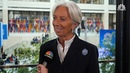 IMF's Lagarde: Disruptors like cryptocurrencies are 'clearly shaking the system'