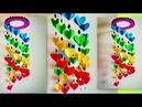 Amazing Wall Hanging Paper Craft | Paper Decoration Ideas | 2018