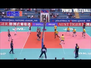 Top 20 no look plays in volleyball (hd)