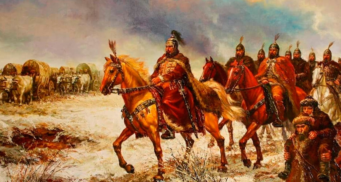 Монголы в пути