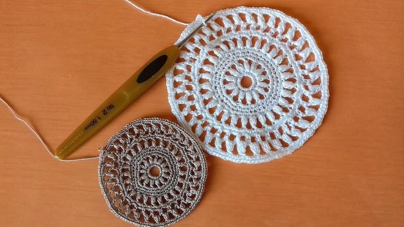 Часть 1. Ажурный круг для вязания топов, кофточек, жакетов кардиганов, палантинов. Разбор схемы.