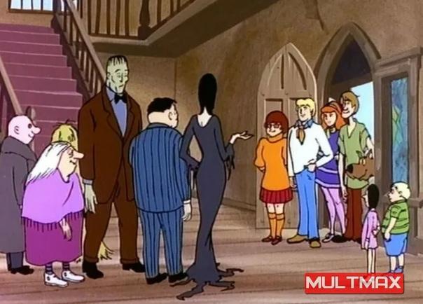 """Популярные персонажи, которые появлялись в мультсериале """"Скуби Ду"""""""
