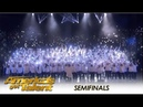Angel City Chorale Pay TRIBUTE To 9 11 Victims For Semifinals America's Got Talent 2018