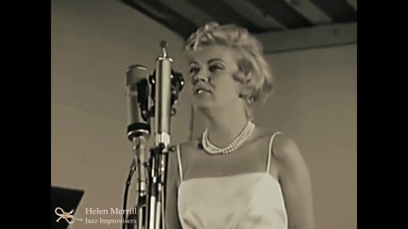 Helen Merrill You'd be so nice to come home to Antibes Juan-les-Pins Jazz Festival, France, July 1960