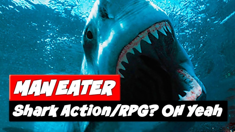 Maneater Game | NEW Shark ActionRPG | What We Know So Far