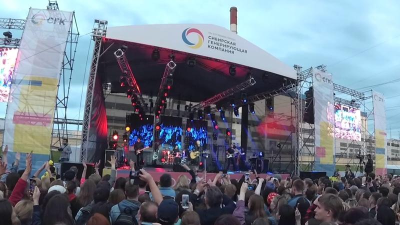 Диана Арбенина Ночные снайперы 15 июня на фестивале Потепление