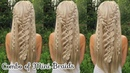 Combo of Mini Braids Hot Instagram Hairstyle How to Braid Hair