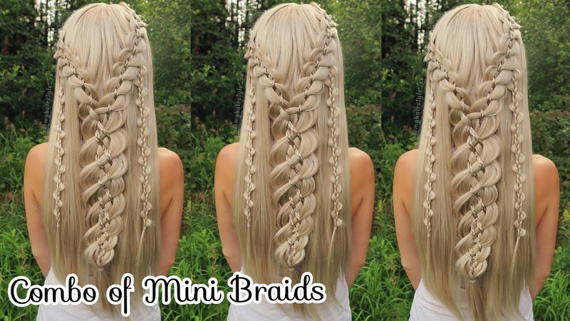 Combo of Mini Braids | Hot Instagram Hairstyle | How to Braid Hair