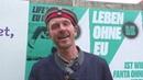 EU-Wahlkrampf und Geisteskrankheiten in Berlin-Kreuzberg AKTUELL