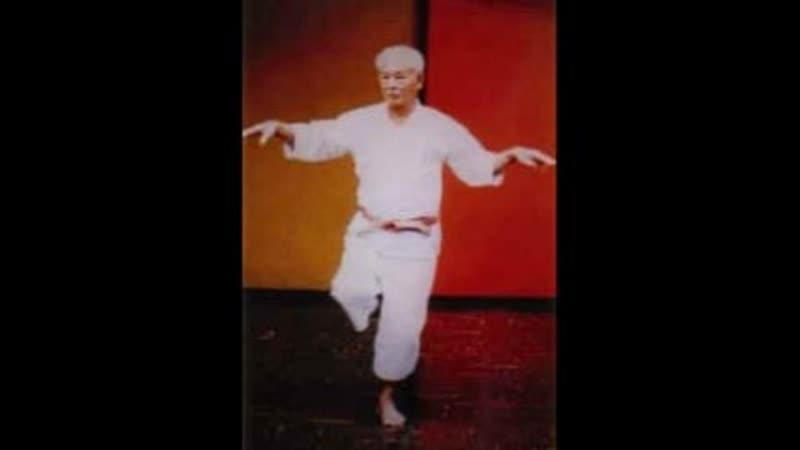 Sensei Hohan Soken performing Hakutsuru kata